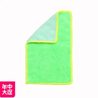 MLHJ 10條 廚房不掉毛擦碗毛巾加厚吸水抹布不沾油清潔布洗碗巾洗碗布