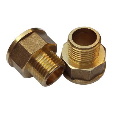 帮客材配 冰一点 全铜 铜变径直接 1寸变4分内外牙直接 满10个包邮