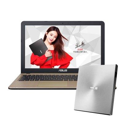 【套餐】华硕顽石(ASUS)FL5700 15.6英寸笔记本+华硕8倍速USB2.0外置DVD刻录机