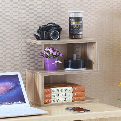 桌上CD架收納架置物架碟片閃電客架子電腦辦公小書架展示架美甲裝飾書房