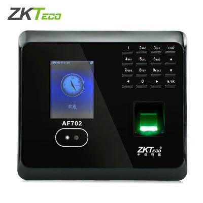 zkteco中控智慧AF702人臉指紋打卡機刷卡指紋人臉識別面部簽到面部識別打卡 網絡TCP+U盤功能