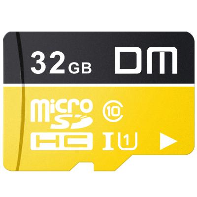 DM 32GB TF卡(MicroSD)存儲卡 C10 TF-U1金色系列 行車記錄儀安防監控攝像頭專用高速內存卡