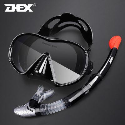 DEX戶外運動浮潛裝備潛水鏡近視全干式呼吸管器防霧浮潛面罩面鏡 DEX
