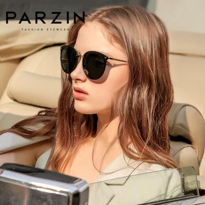 帕森太陽鏡女輕盈時尚復古墨鏡大臉顯瘦韓版潮開車專用駕駛鏡9868