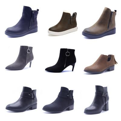 SHOEBOX/鞋柜女鞋 春秋舒適潮流女靴