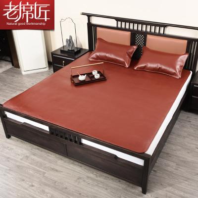 老席匠牛皮席水牛皮席子頭層水牛皮軟1.5米涼席/涼枕床席1.8米三件套單席硬席子