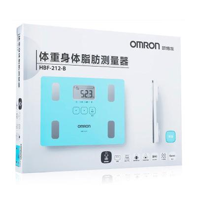 欧姆龙OMRON体重身体脂肪测量器HBF-212智能体脂仪健康脂肪秤 脂肪测量仪(器械) 脂肪仪