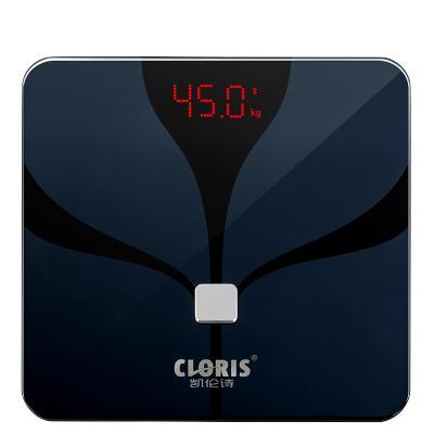 凱倫詩(CLORIS)電子秤 體脂秤 智能體重秤藍牙連接小程序 稱重電子秤人體脂肪秤家用健康體脂儀精準測量