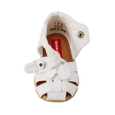 mikihouse軟皮包頭公主風學步鞋包頭涼鞋男女寶寶童鞋日本制