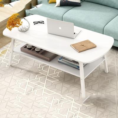 茶几简约现代小户型北欧客厅家用创意双层卧室沙发边几简易小桌子