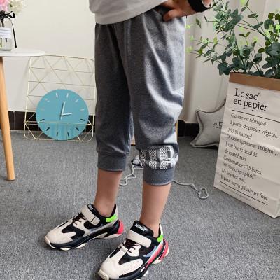 男童裤子夏薄款儿童速干短裤运动七分裤中大童装夏装篮球中裤1065