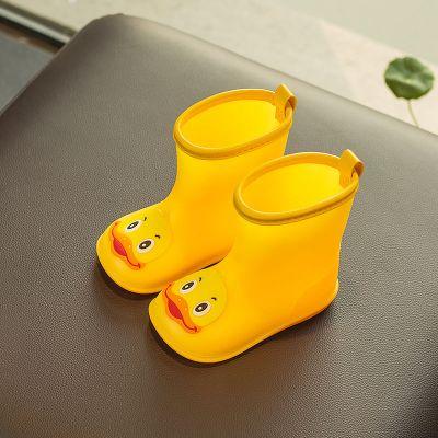 兒童雨鞋1-3歲寶寶雨靴 男童女童幼兒膠鞋2小孩5防滑水鞋 莎丞