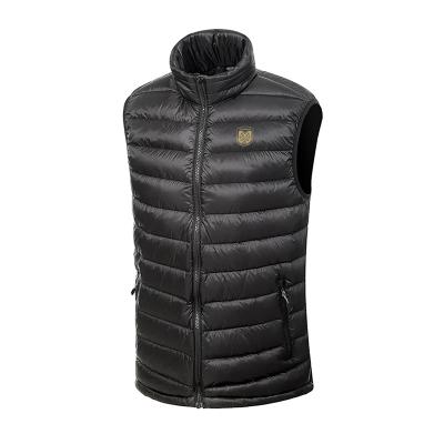 蘇寧足球俱樂部官方新品戶外logo印花羽絨服運動跑步健身馬甲男女短款輕薄防風保暖立領背心外套
