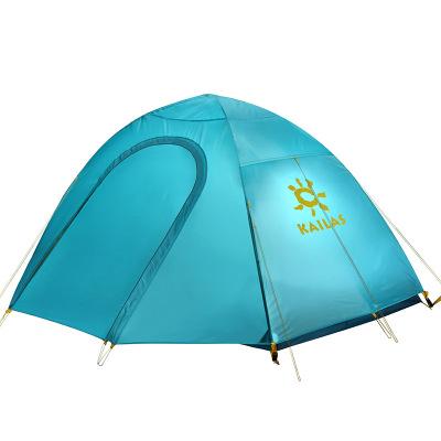 凱樂石KAILAS 專業帳篷戶外雙人野外露營防暴雨防風帳篷套裝手動搭建雙層帳露營旅游登山帳篷