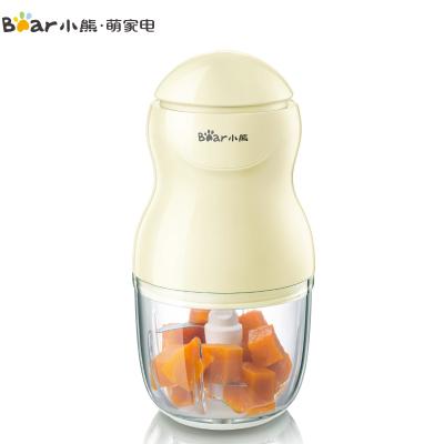 小熊(Bear)切碎機嬰兒輔食機多功能家用電動絞肉機寶寶果泥小型料理機 QSJ-A01P6
