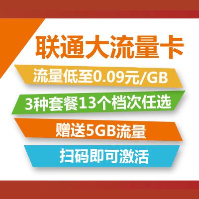 【赠品】中国联通大流量卡
