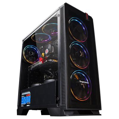 攀升 Intel 酷睿 I5 9400F/GTX 1660 6G/8GB/256GB NVMe高速硬盤 游戲吃雞電腦 組裝機 diy臺式機 臺式 電腦主機