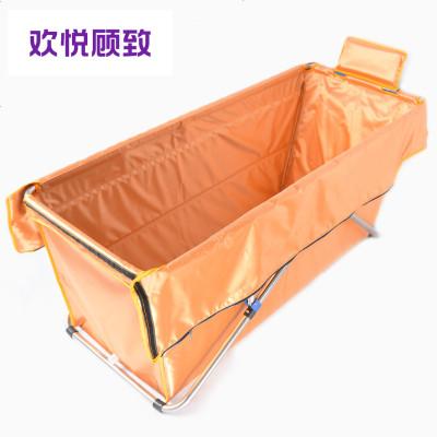 正品折疊浴缸簡易加厚成人沐浴盆保溫省水泡澡桶免充氣