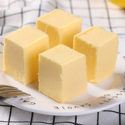 油烘焙原料無鹽動物奶油無水起酥油面包牛軋糖牛油芝士 動物黃油500克