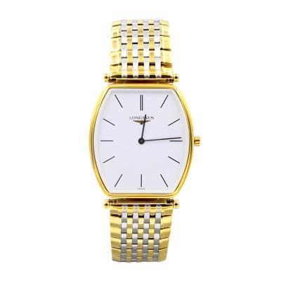 【二手95新】浪琴LONGINES優雅系列L4.705.2.12.7男表石英奢侈品鐘手表腕表
