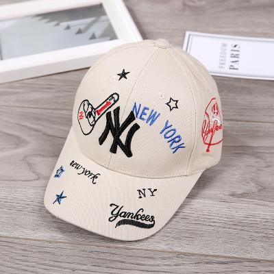 2020新款韓版兒童棒球帽遮陽帽寶寶帽子春夏男童女童薄款鴨舌帽子
