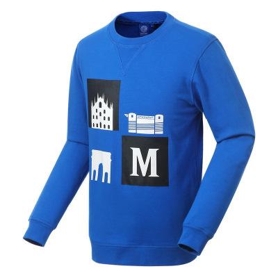 國際米蘭俱樂部Inter Milan時尚長袖運動休閑圓領印花男士衛衣