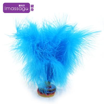 【買2送1】愛瑪莎Imassage毽子雞毛毽子羽毛毽球健身娛樂橡膠加厚耐用膠底彩色鵝毛毽子
