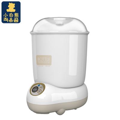 小白熊(XIAOBAIXIONG)奶瓶消毒器大容量婴儿消毒锅带烘干宝宝消毒烘干器2.3kg 45minHL-0871