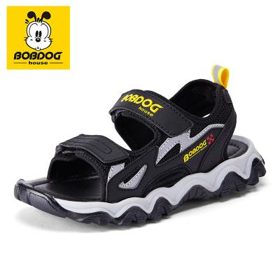 巴布豆BOBDOG HOUSE童鞋童鞋男女童涼鞋2020夏季新款兒童寶寶韓版露趾沙灘鞋