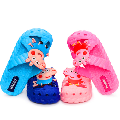 夏天新款卡通時尚兒童涼拖鞋夏季男女童家居防滑可愛涼拖