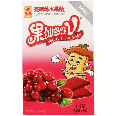 果仙多維V寶寶水果條 兒童維C水果條 蔓越莓味42g