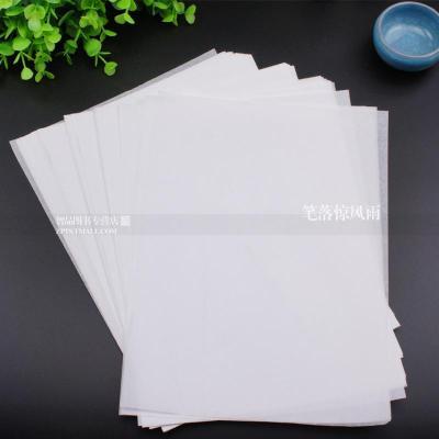 字帖纸透明500张硬笔书法临摹纸 钢笔练字纸透明纸字帖纸硫酸纸书法纸楷书四大家硬笔临摹本纸