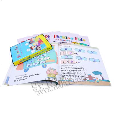 1205正版 phonics kids 少兒英語自然拼讀教材書籍 1-12冊 幼兒童英語啟蒙視頻DVD光盤 自然拼讀