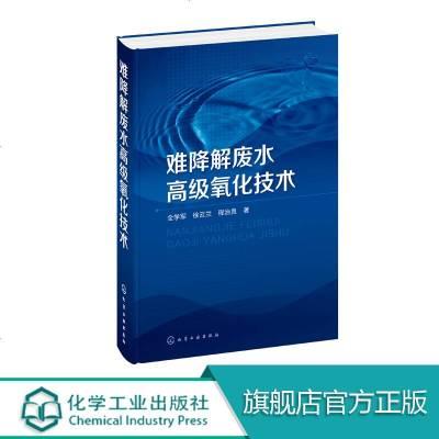 難降解廢水高級氧化技術 重點講解了TiO2光催化液膜光電催化電化學氧化臭氧氧化等高級氧化技術 供環境等相關領域從業人