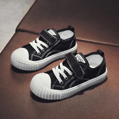 DaBaoSen兒童帆布鞋女童鞋小童餅干鞋2020四季款中大童板鞋男童透氣寶寶鞋兒童帆布鞋 兒童鞋