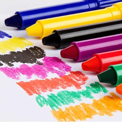 六一儿童节礼物炫彩棒油画棒24色涂鸦 儿童蜡笔彩笔
