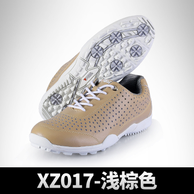 高尔夫球鞋 男款运动鞋子 超强透气洞洞鞋