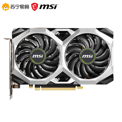 MSI微星 萬圖師 GeForce GTX 1660 SUPER VENTUS XS C OC 6G 1660S時尚款 電競游戲臺式ITX小卡電腦臺式機顯卡