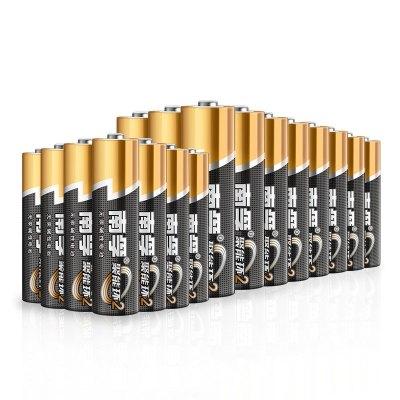 南孚(NANFU)5号五号电池24节+7号七号电池16节 40节组合装碱性干电池适用玩具??仄魇蟊?新老包装随机发货)