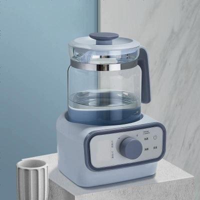babycare恒溫調奶玻璃壺 寶寶智能全自動沖奶機 可調溫 泡奶粉暖奶器 靜謐藍