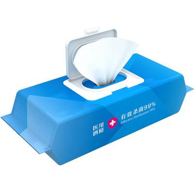 消毒濕巾濕紙巾衛生一次性擦手80抽75度國貨之光