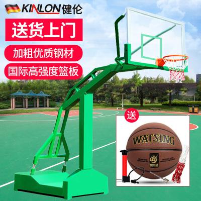 健伦(JEEANLEAN) 篮球架成人标准户外 室内 移动篮球架 梯式篮球架