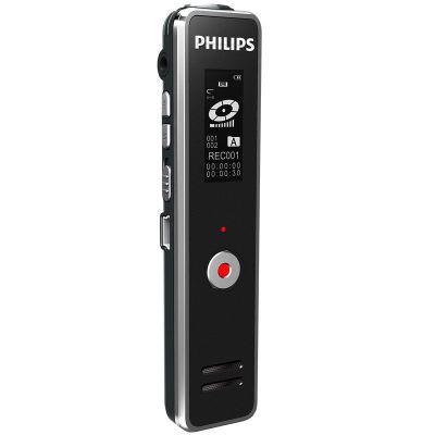 飞利浦(PHILIPS)VTR5100 8GB 学习记录 远距离录音笔 经典锖