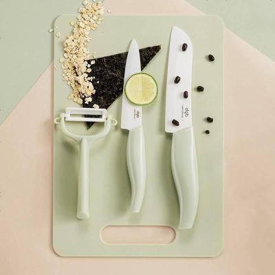 babycare輔食刀具套裝 寶寶輔食機料理工具嬰兒研磨器多功能一體 刀具四件套 霧綠