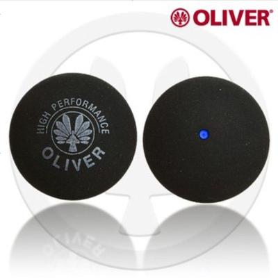 (YKZS)奥立弗OLIVER 壁球拍用球 红点蓝点黄点初学练习训练用壁球