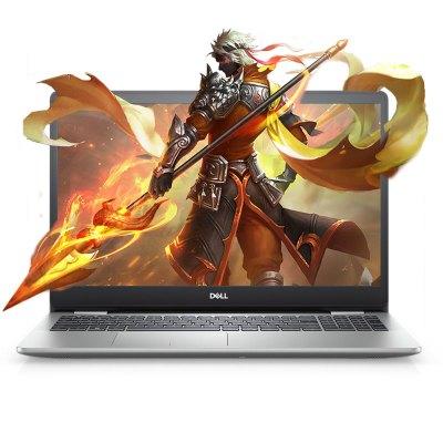 戴爾(DELL) 靈越燃5000 5593 15.6英寸 輕薄本 窄邊框 筆記本電腦 十代 i5-1035G1 8G 512GB固態 MX230 2G獨顯 高清屏 銀色 定制版