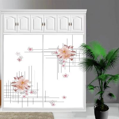 衣柜CIAA定做衣櫥推拉壁柜簡約滑動3定制鋼化玻璃衣柜移 2
