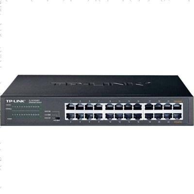 TP-LINK TL-SG1024DT 24口全千兆網絡交換機高速網線分線器家用商用企業級電腦辦公監控tplink