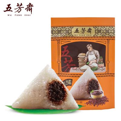 五芳齋粽子豆沙粽 嘉興特產真空量販裝600g 經典口味豆沙粽