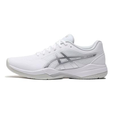 ASICS男鞋網球鞋網球GEL-GAME 7運動鞋1041A042-104 1041A042-104白色+銀色